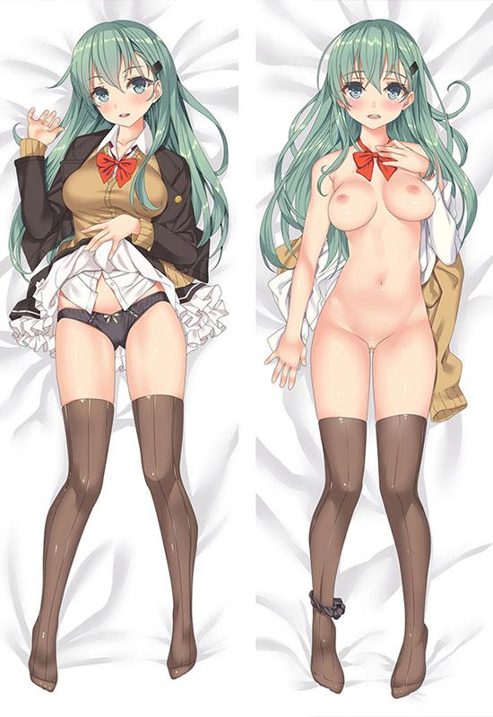 艦隊これくしょん 鈴谷 エロ抱き枕カバー 裸のおっぱい 無修正